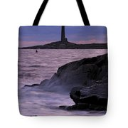 Daybreak Near The North Tower Tote Bag