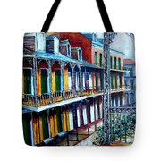 Daybreak On St. Ann Street Tote Bag