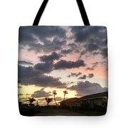 Daybreak Sky In Florida Tote Bag