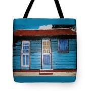 Daydreaming Blues Tote Bag
