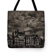 Daydreams Darken Into Nightmares Tote Bag