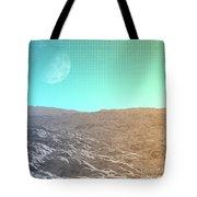 Daylight In The Desert Tote Bag