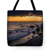 Days End At El Matador Tote Bag