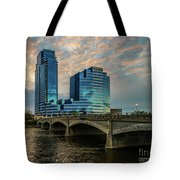 Days End In Grand Rapids Tote Bag