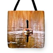 An Idyllic Day's End Tote Bag