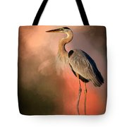 Day's Fiery End Tote Bag