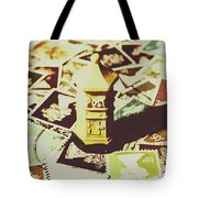 Days From The Vintage Post Office Tote Bag