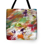 Days Gone By- Abstract Art By Linda Woods Tote Bag
