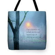 Days Of Darkness Tote Bag