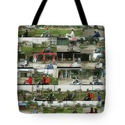 Daytime Scooters, Hanoi Tote Bag
