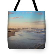 Daytona Beach At Sunset, Florida Tote Bag