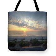Daytona Beach Sunrise Tote Bag