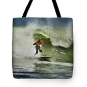 Daytona Beach Surfing Day Tote Bag