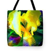 Dazzle In The Garden Sun Tote Bag