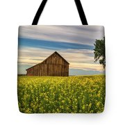 Dazzling Canola In Bloom Tote Bag
