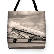 Dc-3 Vintage Look Tote Bag