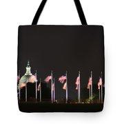Dc At Night Tote Bag