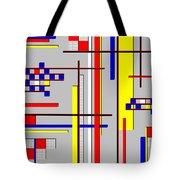 De Stijl Love Tote Bag by Tara Hutton