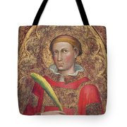Deacon Saint, With Saint Anthony Abbot Tote Bag