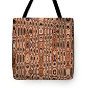 Dead Agave Stump Abstract Tote Bag