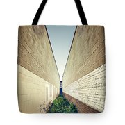 Dead End Alley Tote Bag