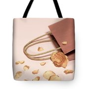 Dead Flower Petals With A Gift, Begonia Tote Bag
