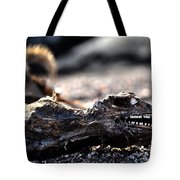 Dead Marine Iguana Tote Bag