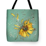 Dead Suflower Tote Bag