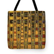 Dead Tree Abstract Tote Bag