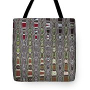 Dead Tree In The Forest Abstract Tote Bag