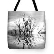 Dead Trees Bw Tote Bag