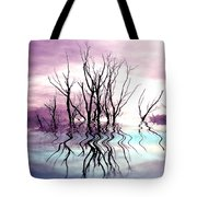 Dead Trees Colored Version Tote Bag