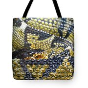 Deadly Details Tote Bag
