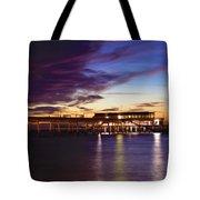 Deal Pier Tote Bag