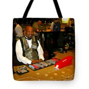 Dealer In Las Vegas Casino Tote Bag