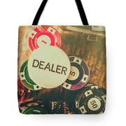 Dealers House Edge Tote Bag
