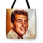 Dean Martin, Hollywood Legend By John Springfield Tote Bag