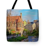 Dean Village, Edinburgh, Scotland Tote Bag