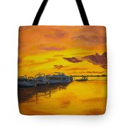 Deans Sunset Tote Bag