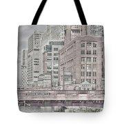 Dearborn Street Bridge Tote Bag