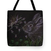 Dearest Bunny Eat The Clover And Let The Garden Be Tote Bag