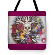 Death Becomes Me Tote Bag