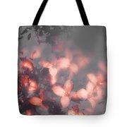Death Blooms Tote Bag