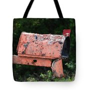 Death By E Mail Tote Bag