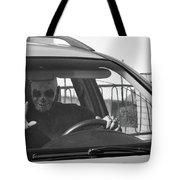 Death Driver Tote Bag