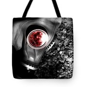 Death In Battle Tote Bag