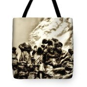 Death In The Time Of The Irish Famine Tote Bag