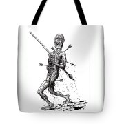 Death March Tote Bag by Tobey Anderson