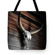 Death Of A Longhorn Tote Bag