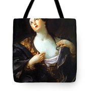 Death Of Cleopatra 1598 Tote Bag